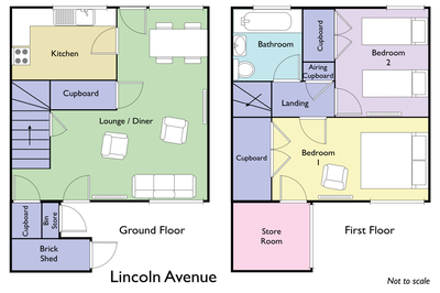 Floor plan for Lincoln Avenue