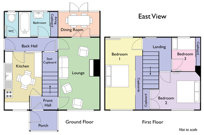 Floor plan created for East View